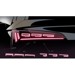 Seat Tarraco światła tylne...